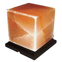 Himalayan Salt Lamp Crystal Air Purifier Cube