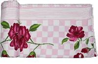 Red Flower Print  Soft And Warm Micro Single Bed Blanket