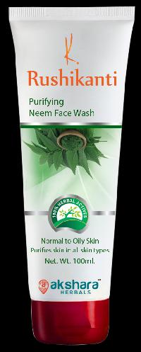 Rushikanti Purifying Neem Face Wash