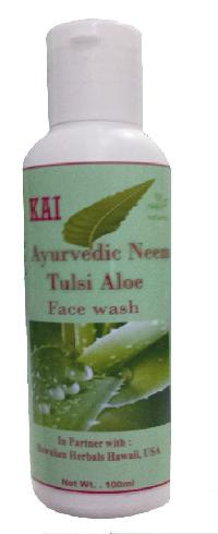 HAWAIIAN AYURVEDIC NEEM TULSI ALOE FACE WASH