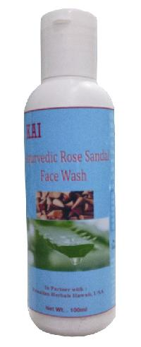 Hawaiian Ayurvedic Rose Sandal Face Wash