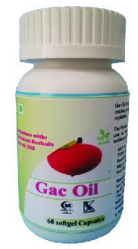 Hawaiian Gac Oil Softgel Capsules