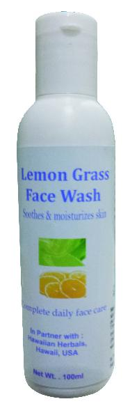 Hawaiian Lemon Grass Face Wash