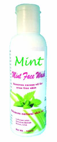 HAWAIIAN MINT FACE WASH