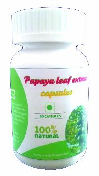 HAWAIIAN PAPAYA LEAF EXTRACT CAPSULES