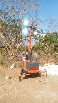 Mobile Lighting Towers Rental