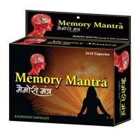 Memory Mantra Ayurvedic Capsules