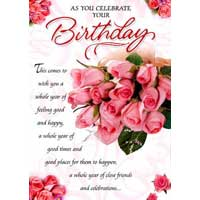 Birthday Anniversary Greeting Card 01