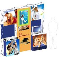 3 X 3 Product Display System