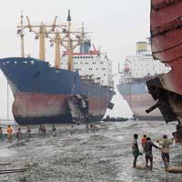 Used Ship Scrap