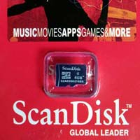 ScanDisk Memory Card 4GB