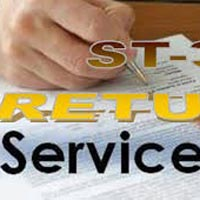 Service Tax Return Filing Services