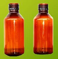 Amber Pet Bottles (100-ml)