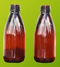 Amber Pet Bottles (150-ml)