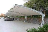 Tensile Stylish Car Parking Shade