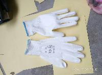 White PU Coated Gloves