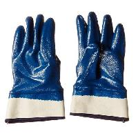 Blue Nitrile Hand Gloves