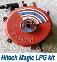 Hitech Magic lpg gas kit