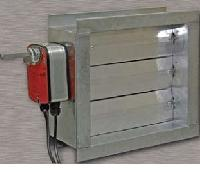 Fire dampers manufacturers suppliers exporters in india for Motorized smoke fire damper