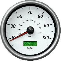 Motorcycle Speedometer