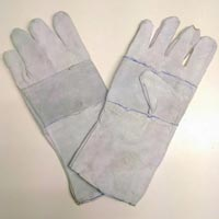 Leather Hand Gloves Commercial Quality