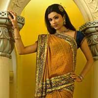Lucknow Chikankari Work Georgette Saree