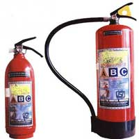 Fire extinguisher types and uses in india