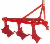 Three Bottom Fixed Mould Board Plough