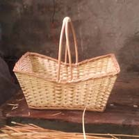 Rectangular Baskets With Handle