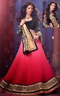 Pale Pink Fashion Designer Choli