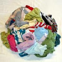 Mixed Colour Hosiery Clipping Cut Waste