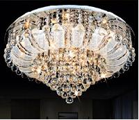 Led Bulb Chandelier Crystal Light