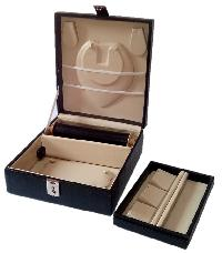 Jewelry Locker Box- Black