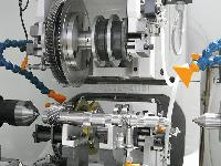 Gear Deburring and Chamfering Machine
