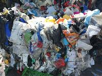 HDPE Waste in Bales