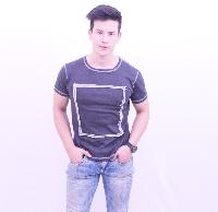 Mens Fabric Applique T-Shirts