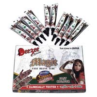 Dezee Magic Fast Henna Tube (Black Color)
