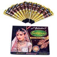 Golecha Sehnaaz Instant Henna Paste Cone (black Color)