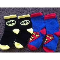 Kids Superhero Ankle Socks