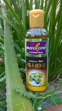Nuvotone Aloevera -Olive Body oil