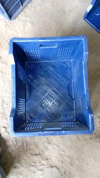 Plastic Crates (Blue)