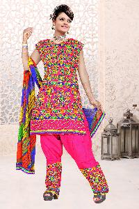 Cotton Dress with Embroidery Work