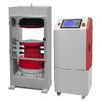 Semi Automatic Compression Testing Equipment With Single Load Gauge