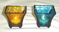 Glass T Light Holder