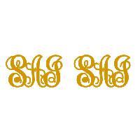Monogram Cufflinks