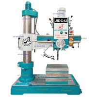 Geared Radial Drilling Machine With Auto Feed