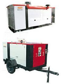 Diesel Powered Screw Air Compressor