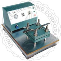 UEC-2007 B Laboratory Sheet Press Square Type (Pneumatic Controlled)