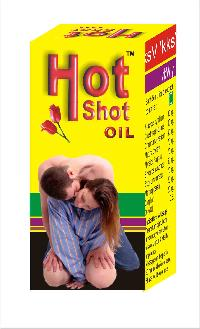 Hot Shot Massage Oil