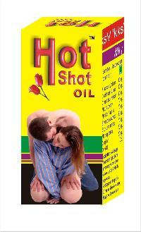 Hot Shot Massage Oil